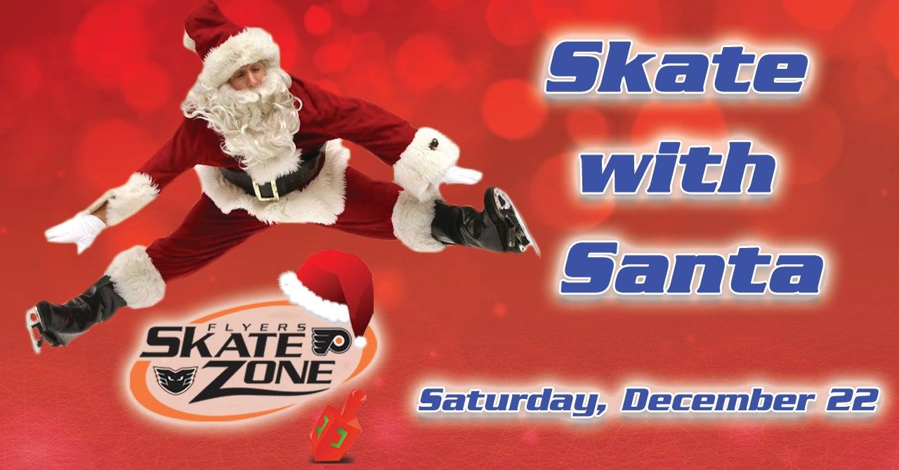 skate with santa flyers skate zone